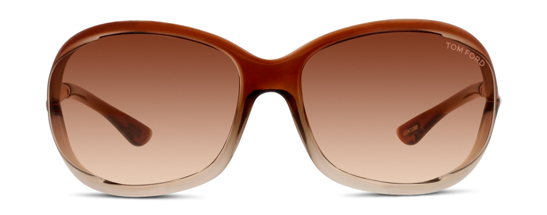 Front Tom Ford Tom Ford 0008 38F 61/99 Bruin, Transparant/Bruin