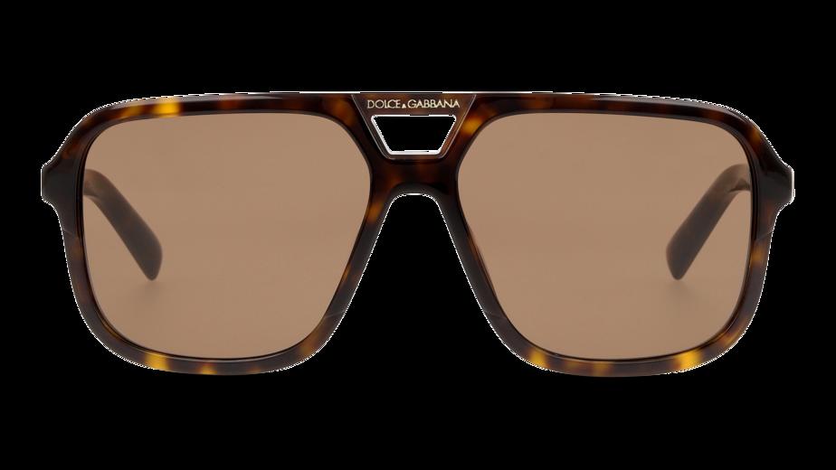 Front Dolce & Gabbana DolceGab 4354 502/73 58/15 Tartarugato/Marrone