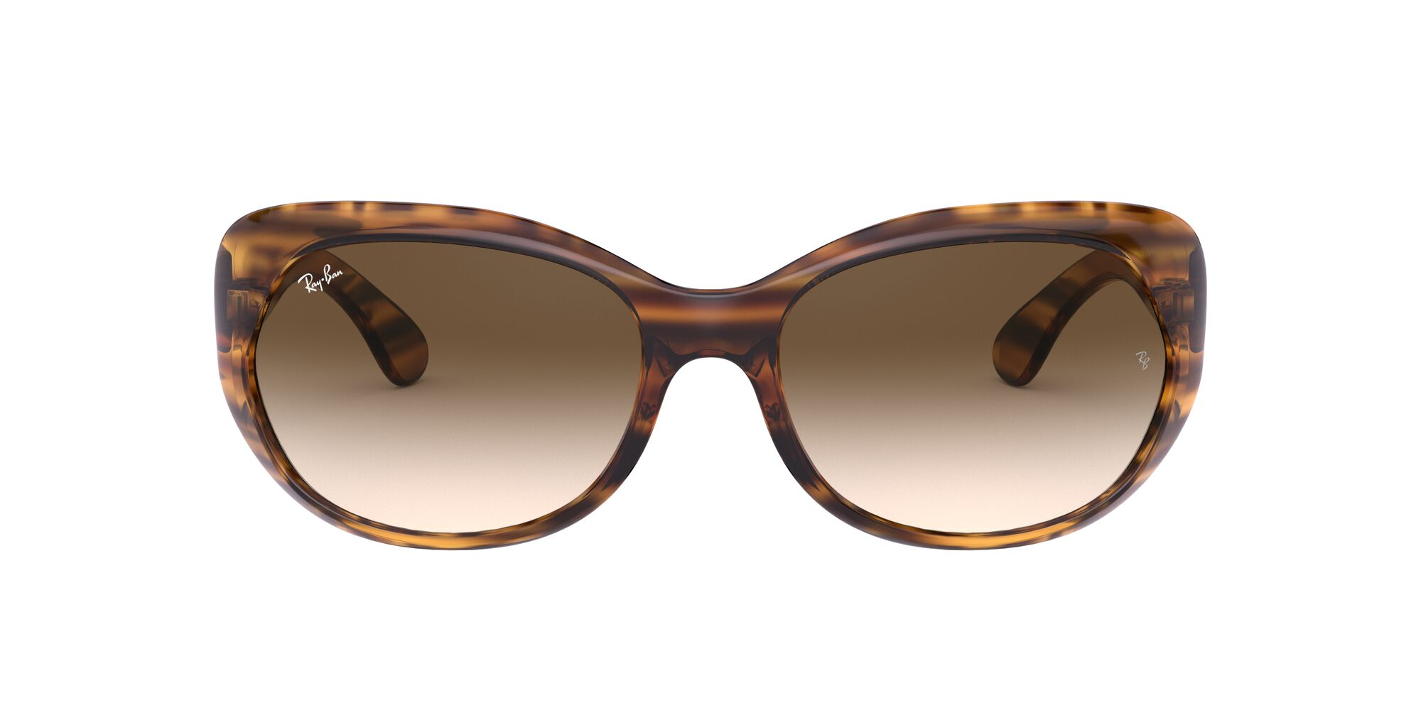 Front Ray-Ban Ray-Ban 0RB4325 820/13 58/18 Rood, Bruin/Bruin
