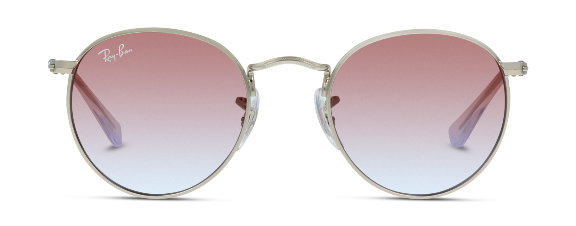 Front Ray-Ban Ray-Ban 0RJ9547S 212/I8 44/19 Zilver/Roze