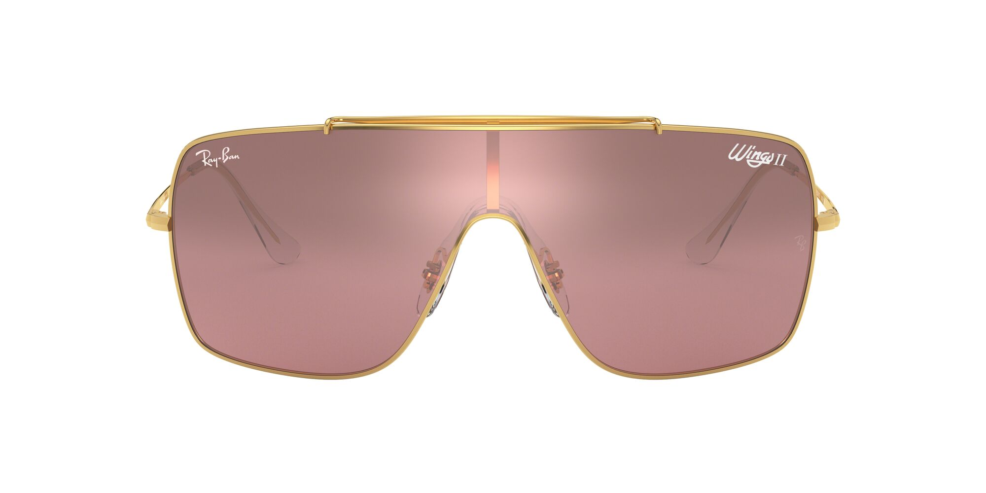 Front Ray-Ban Ray-Ban RB3697 9050Y2 35/68 Goud/Roze