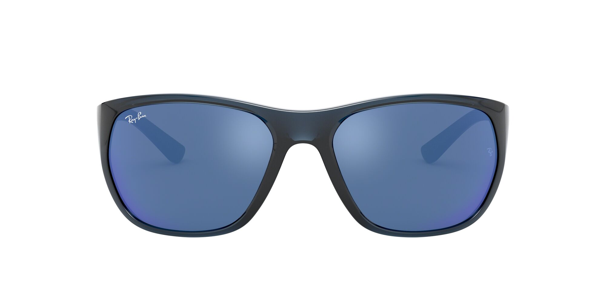 Front Ray-Ban Ray-Ban 0RB4307 643855 61/18 Blauw, Transparant/Blauw
