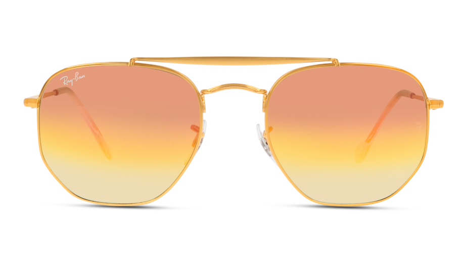 Front Ray-Ban Ray-Ban 0RB3648 9001I1 54/21 Goud/Roze