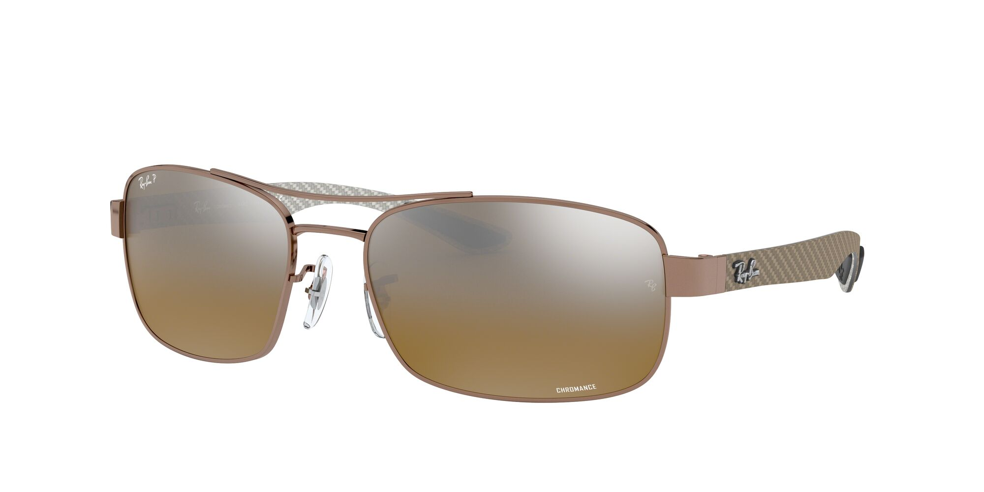 Angle_Left01 Ray-Ban Ray-Ban 0RB8318CH 121/A2 62/18 Bruin/Bruin