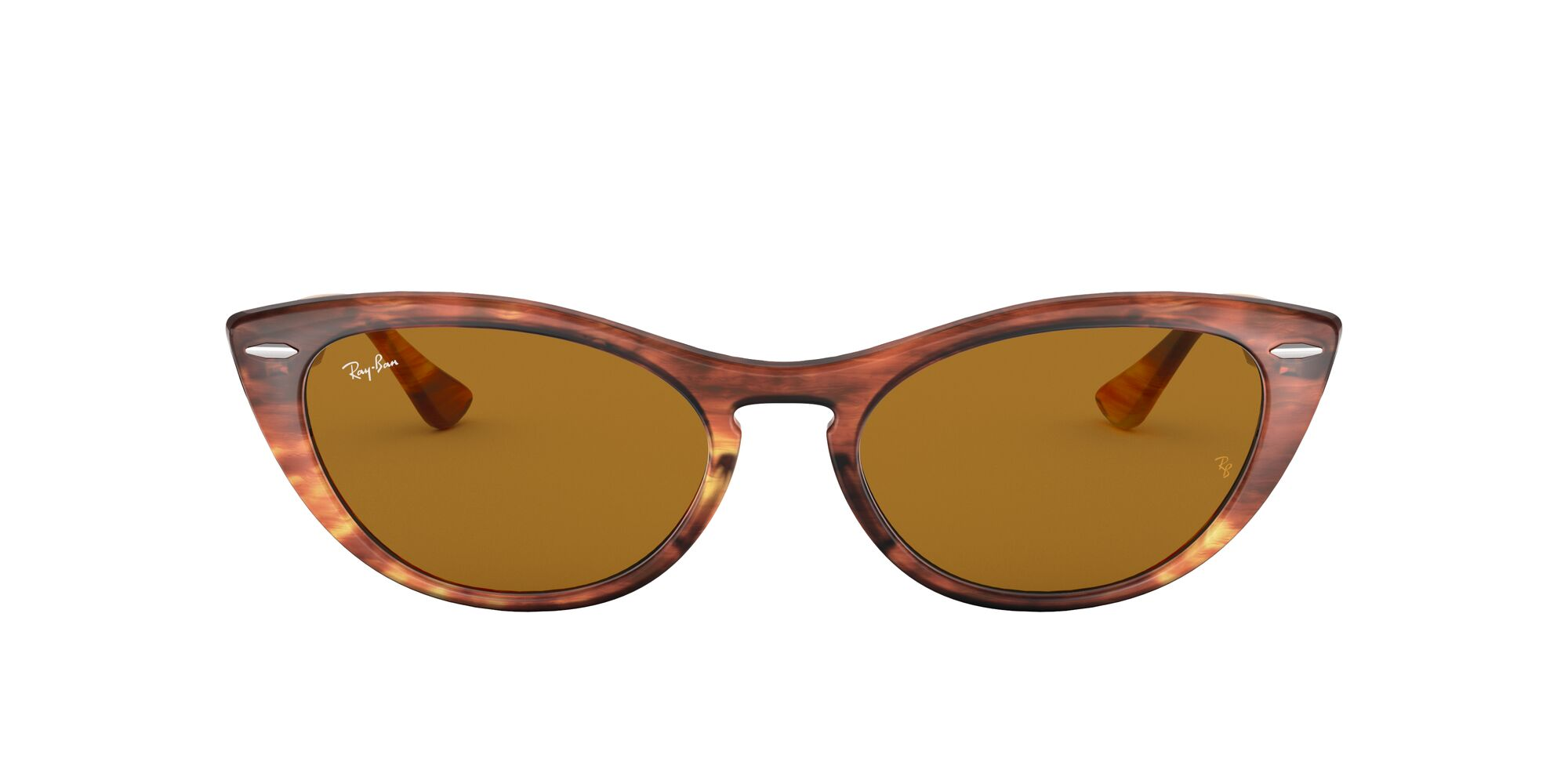 Front Ray-Ban Ray-Ban RB4314N 954/33 54/18 Bruin/Bruin