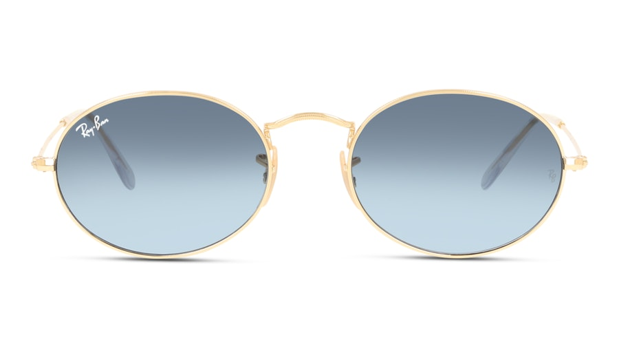 Ray-Ban Oval 3547 001/3M Grijs / Goud