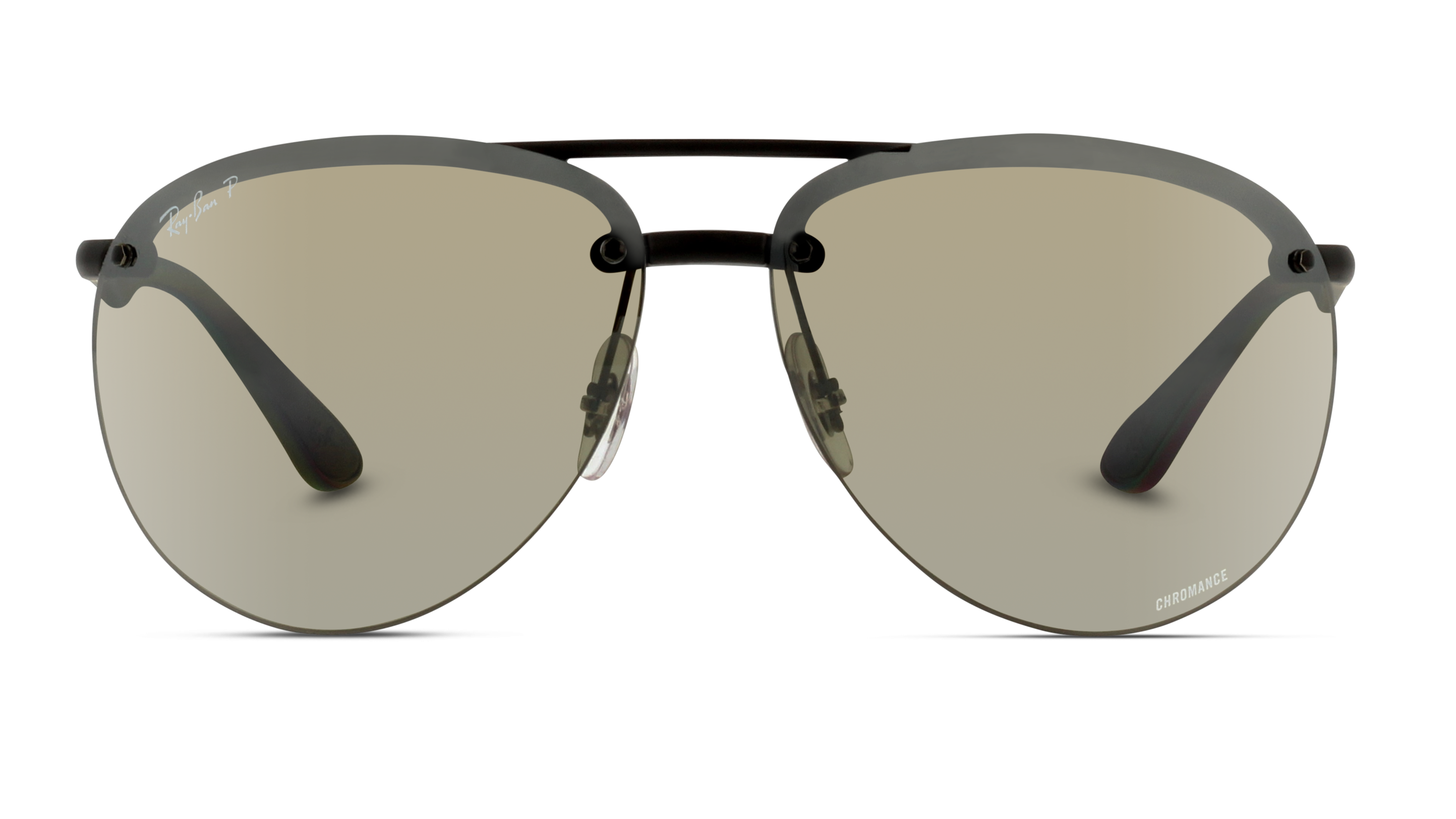 Front Ray-Ban Ray-Ban 0RB4293CH 601S5J 65/13 Zwart/Grijs
