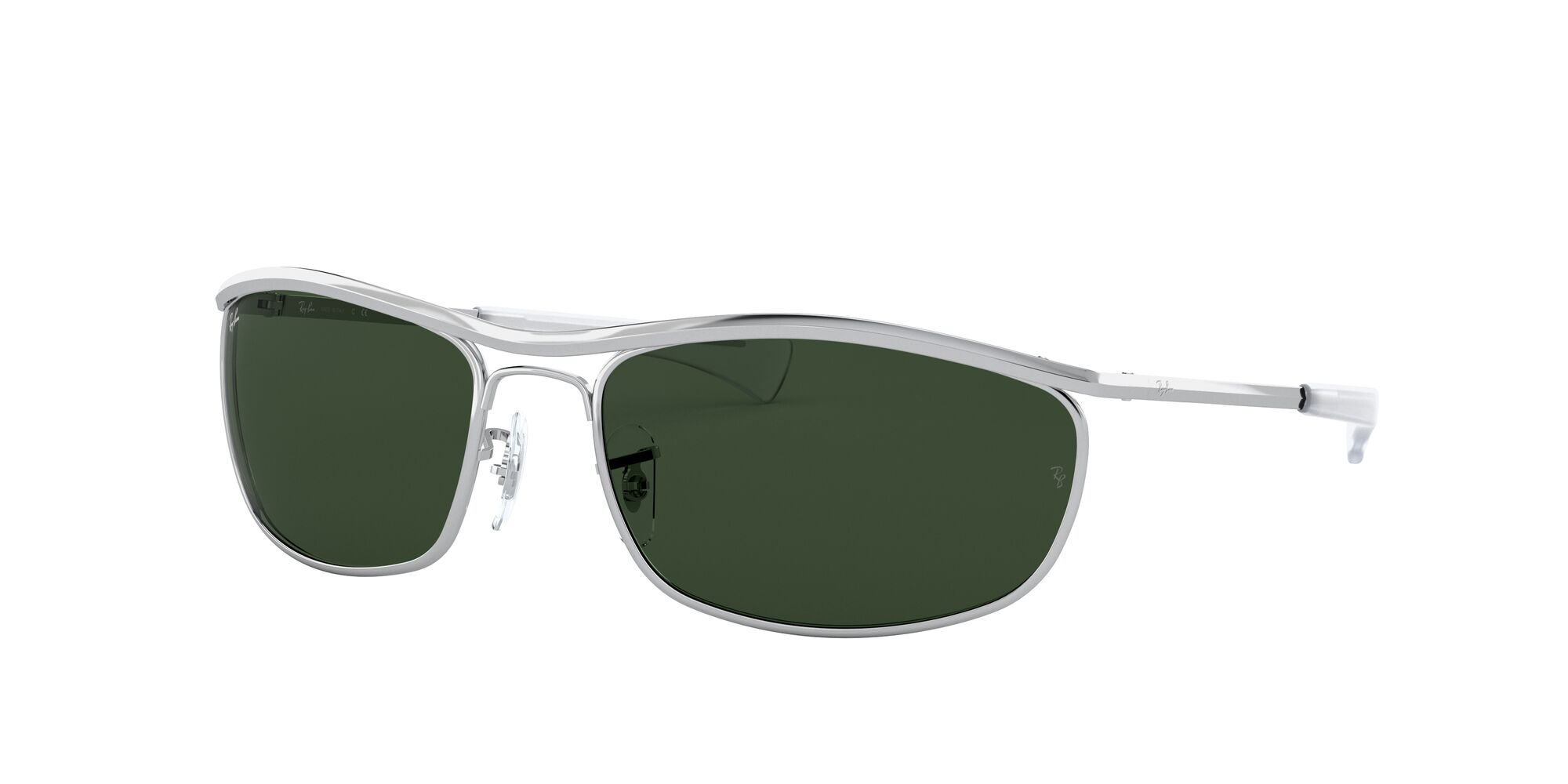 Angle_Left01 Ray-Ban Ray-Ban 0RB3119M 003/31 62/18 Zilver/Groen