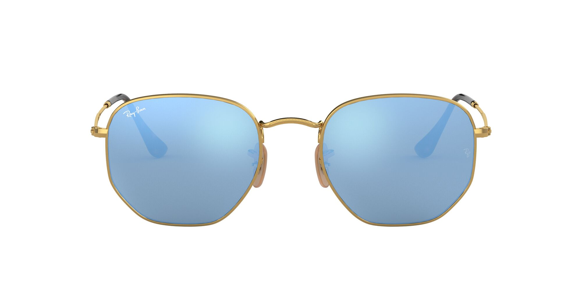 Front Ray-Ban Ray-Ban 0RB3548N 001/9O 48/21 Goud, Blauw/Blauw