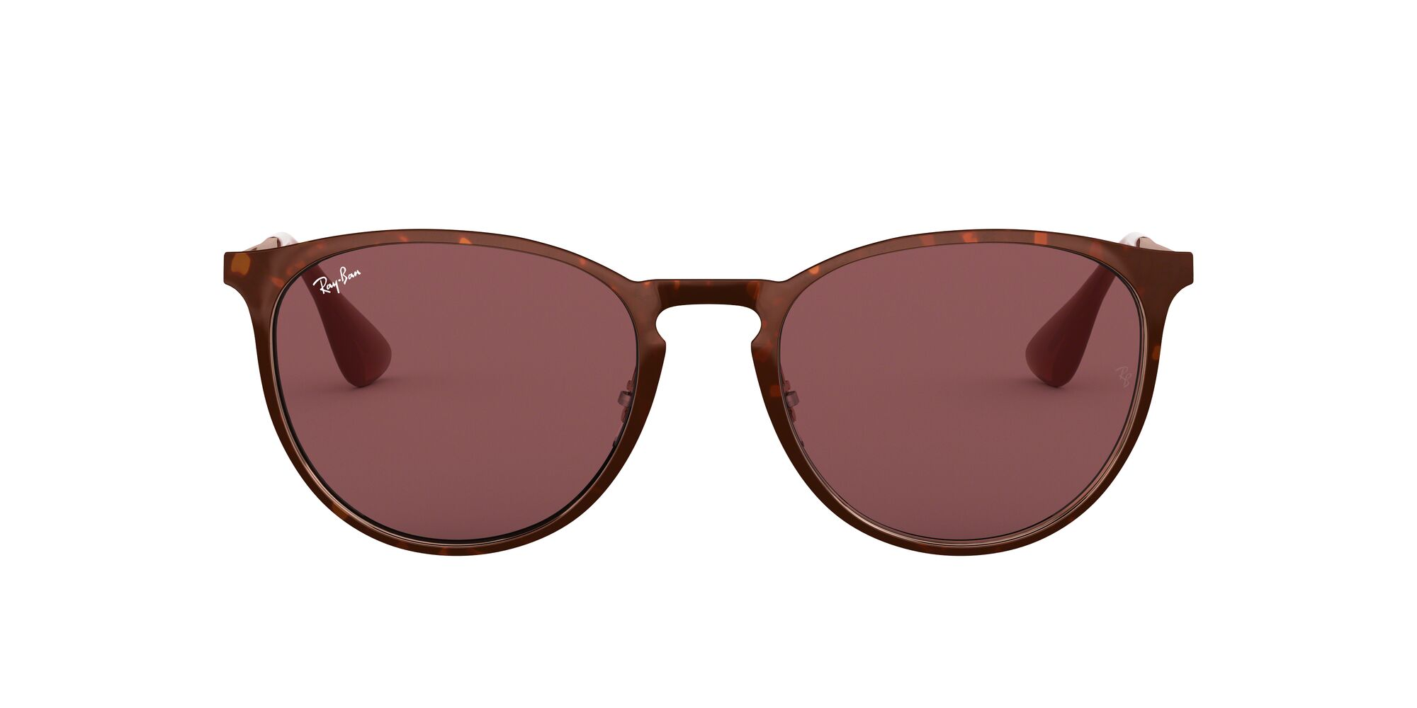 Front Ray-Ban Ray-Ban 0RB3539 913375 54/19 Bruin/Paars