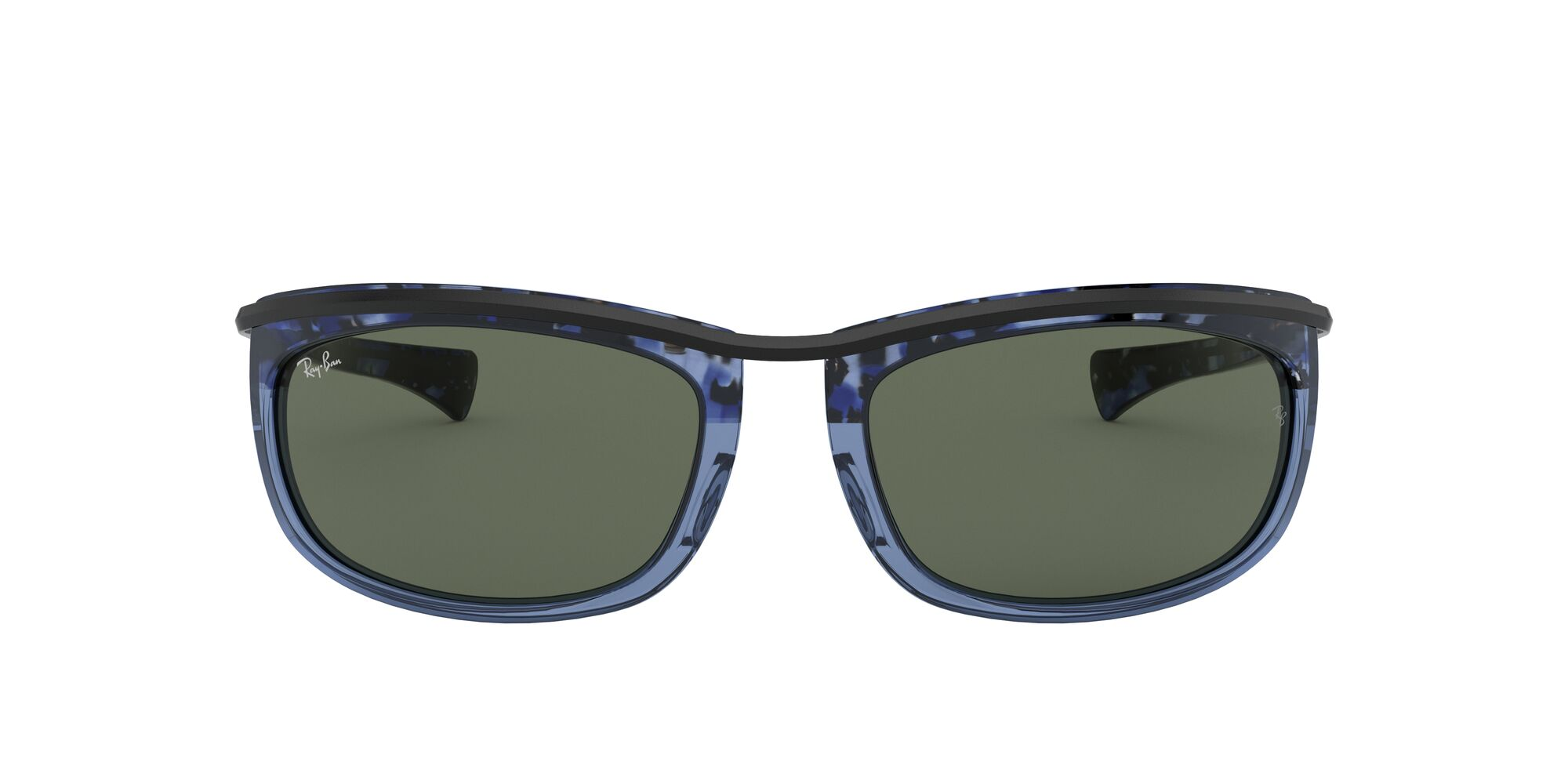 Front Ray-Ban Ray-Ban 0RB2319 128831 62/19 Bruin/Groen