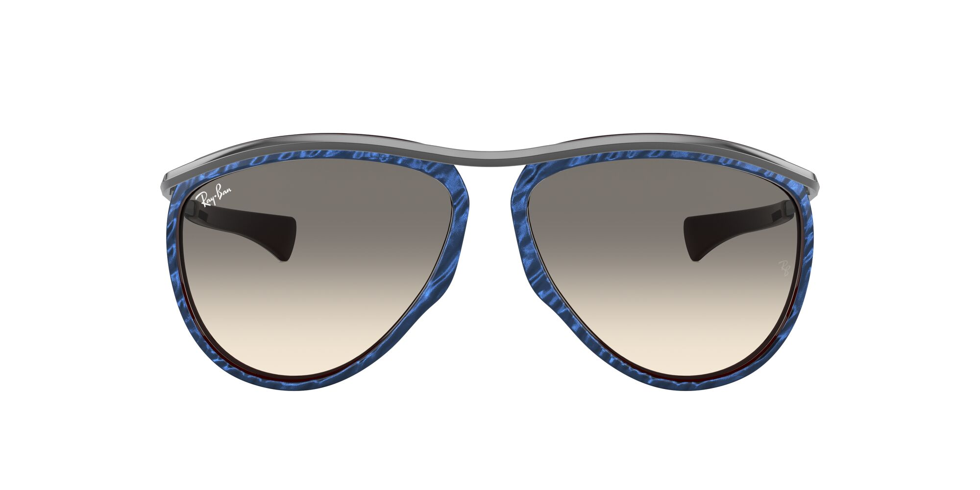 Front Ray-Ban Ray-Ban 0RB2219 131032 59/13 Blauw, Bruin/Grijs