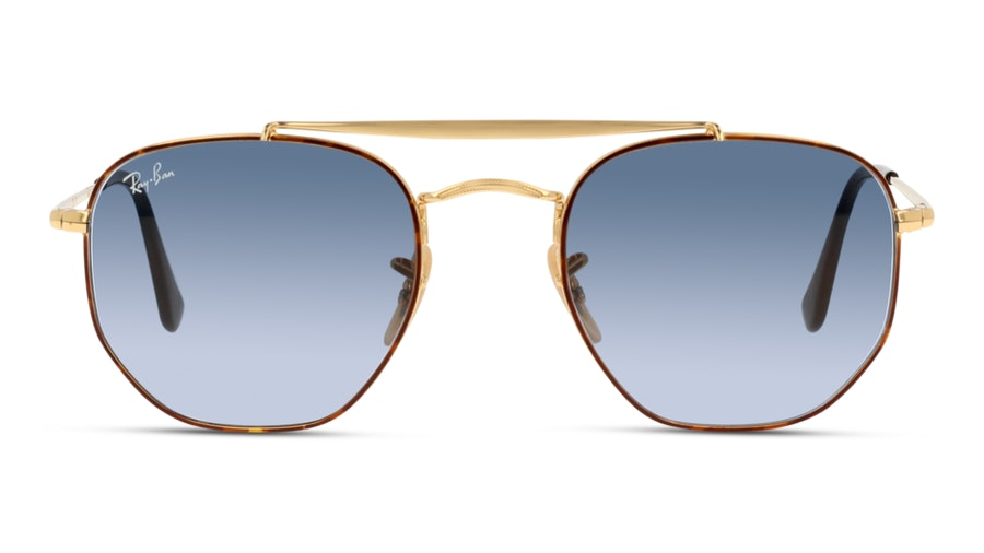Ray-Ban 0RB3648 91023M Blauw / Gold, Bruin