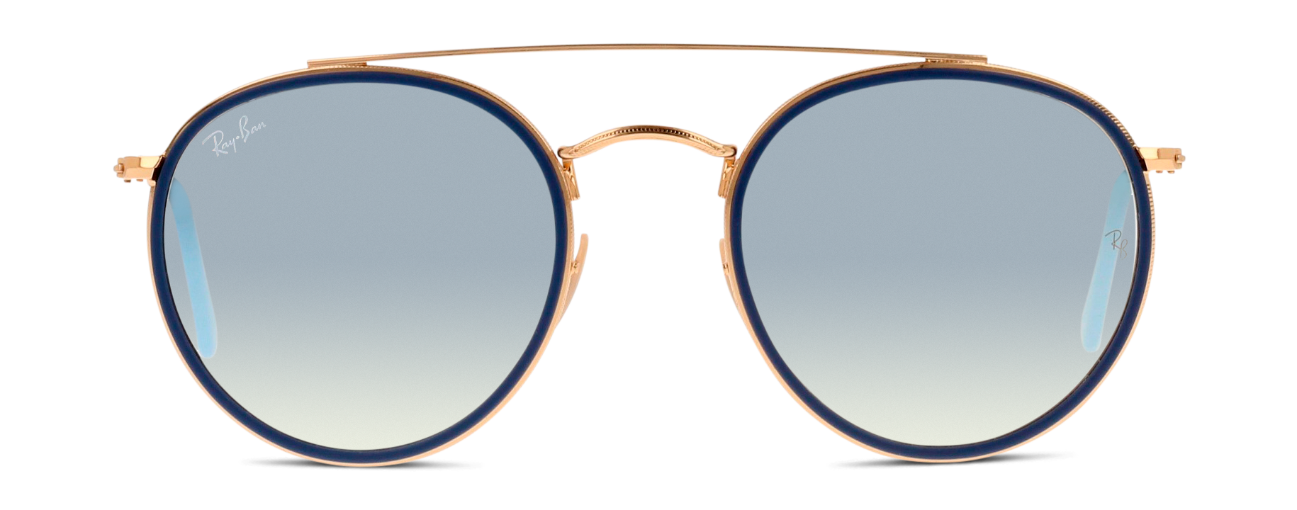 Front Ray-Ban Ray-Ban 3647N 001/ 51/22 Goud, Blauw/Zilver