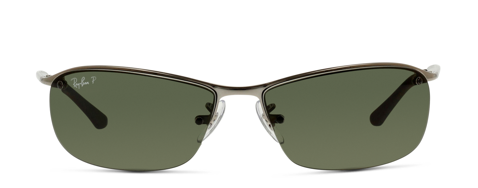 Front Ray-Ban Ray-Ban 3183 004/9A 63/15 Zilver/Groen