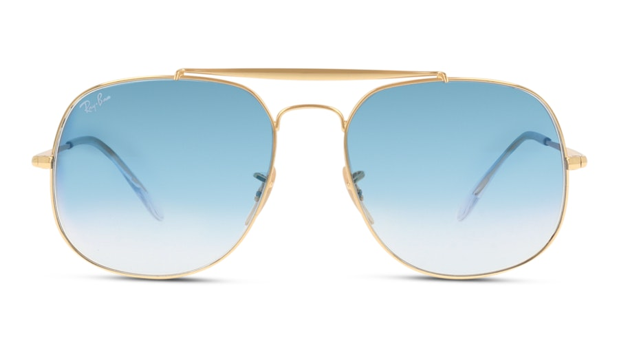 Ray-Ban THE GENERAL 3561 001/3F Blauw