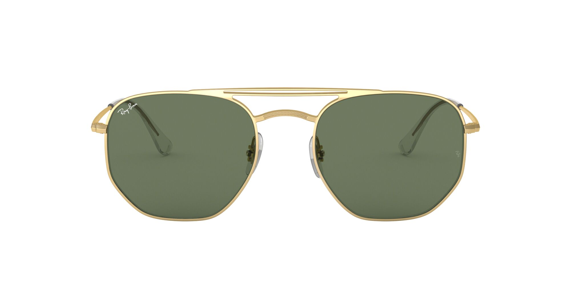 Front Ray-Ban Ray-Ban RB3609 914071 54/20 Goud/Groen