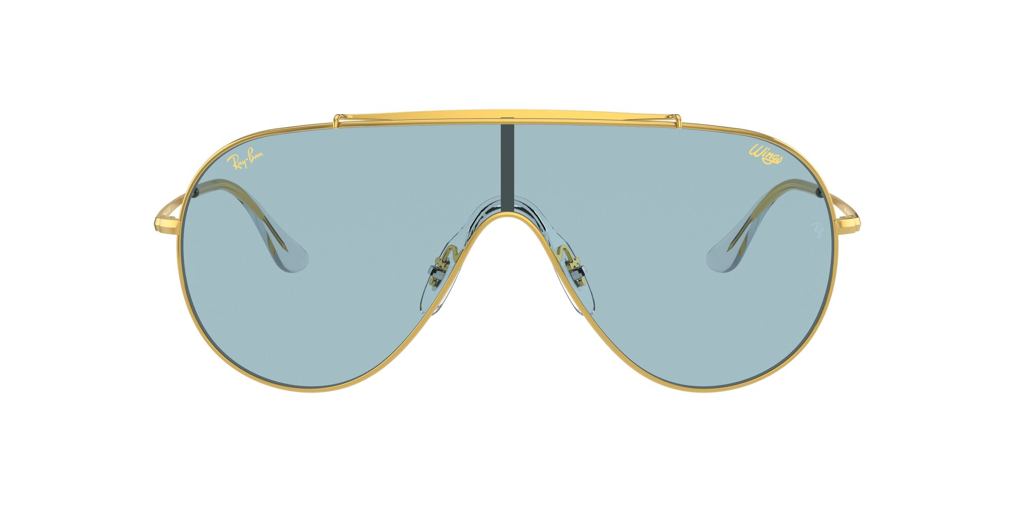 Front Ray-Ban Ray-Ban 0RB3597 919680 0/0 Goud/Blauw