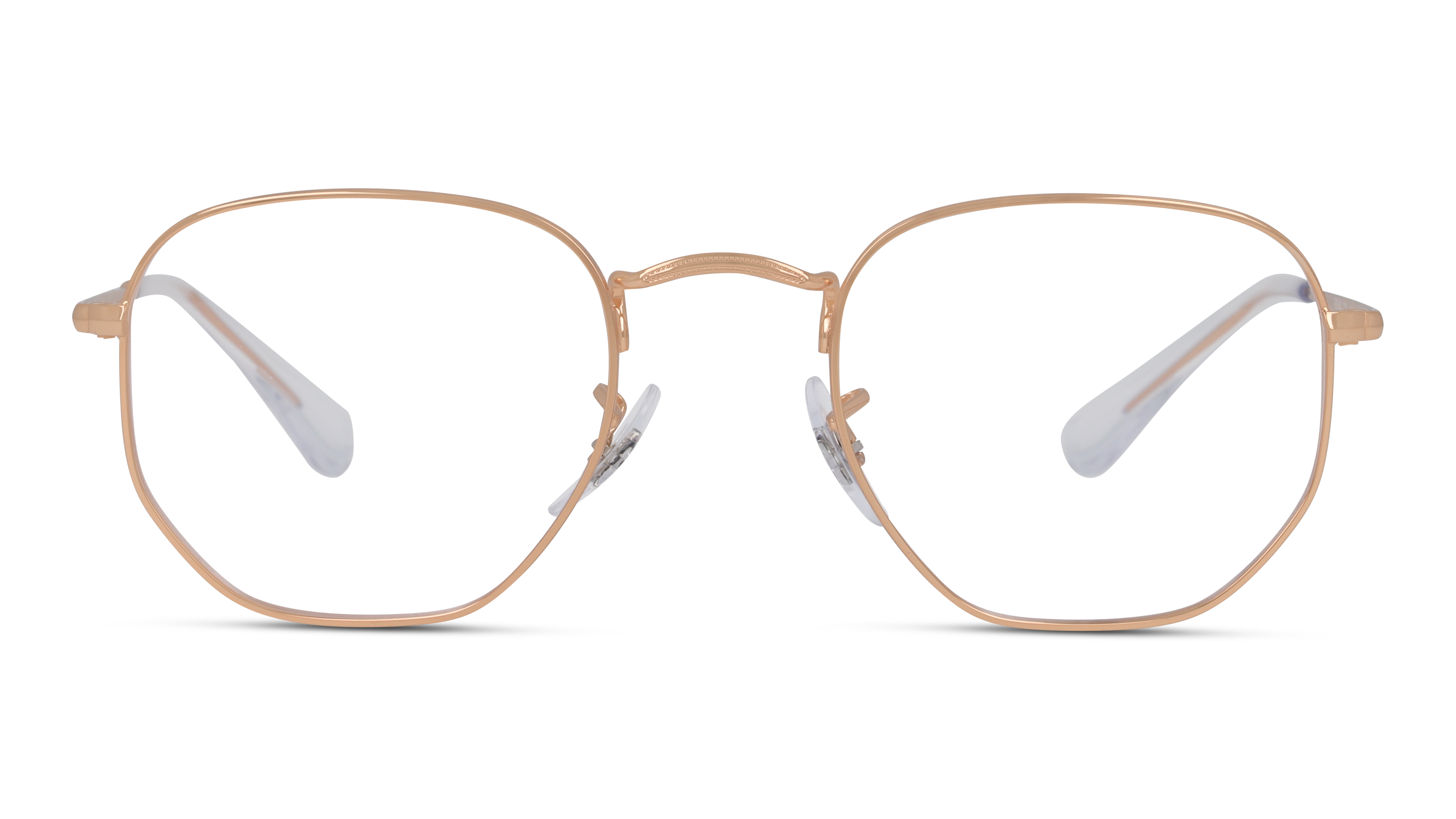 Front Ray-Ban Ray-Ban 0RX6448 3094 51/21 Roze, Goud