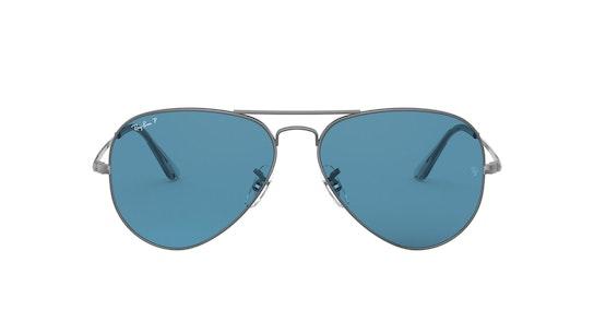 0RB3689 004/S2 Blauw / Zilver