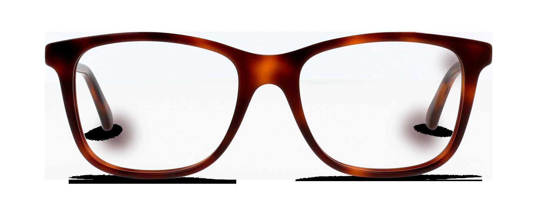Front Gucci GG0018O/002/5218/140 Skildpaddefarvet