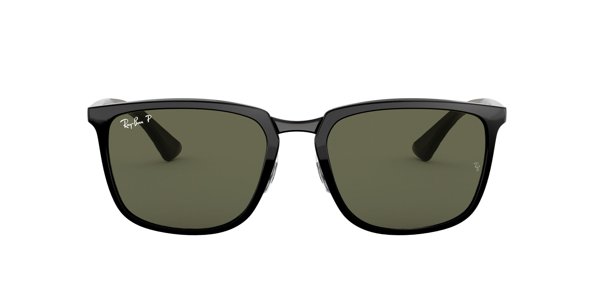 Front Ray-Ban Ray-Ban 0RB4303 601/9A 57/19 Zwart/Groen
