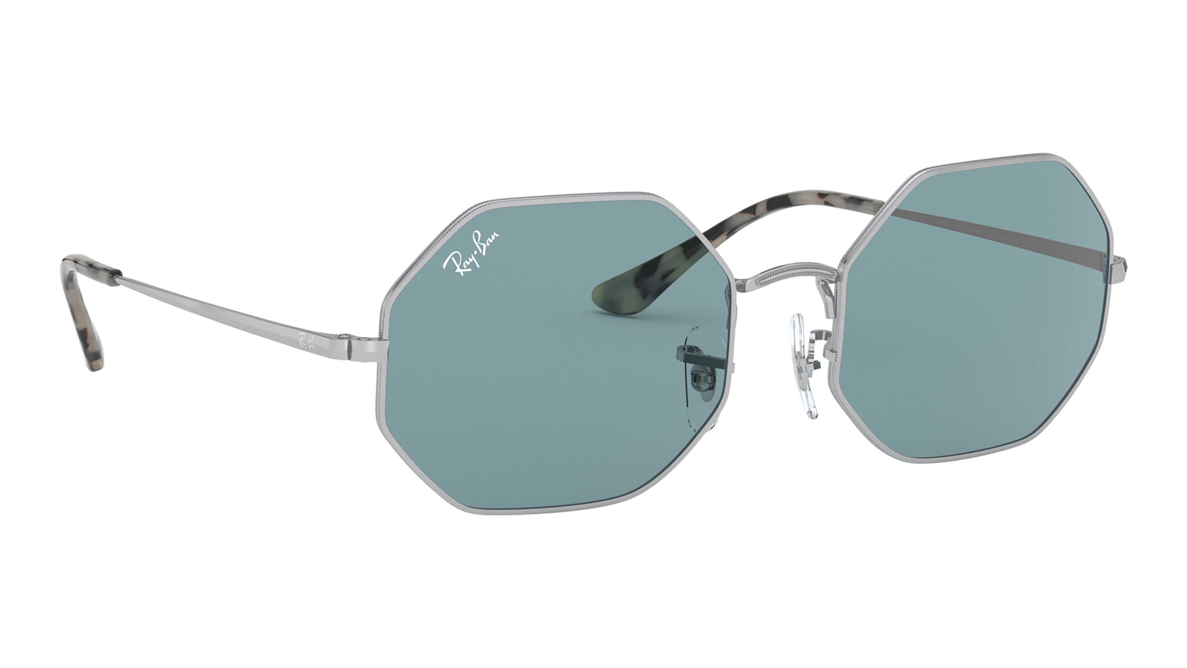 Angle_Right02 Ray-Ban Ray-Ban 0RB1972 919756 54/19 Zilver/Blauw