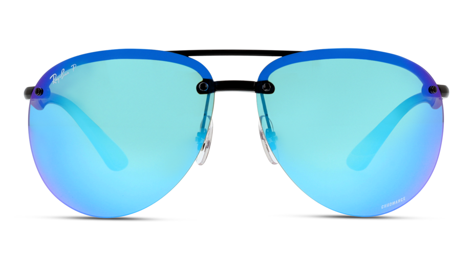 Front Ray-Ban Ray-Ban RB4293CH 601/A1 65/13 Zwart/Blauw