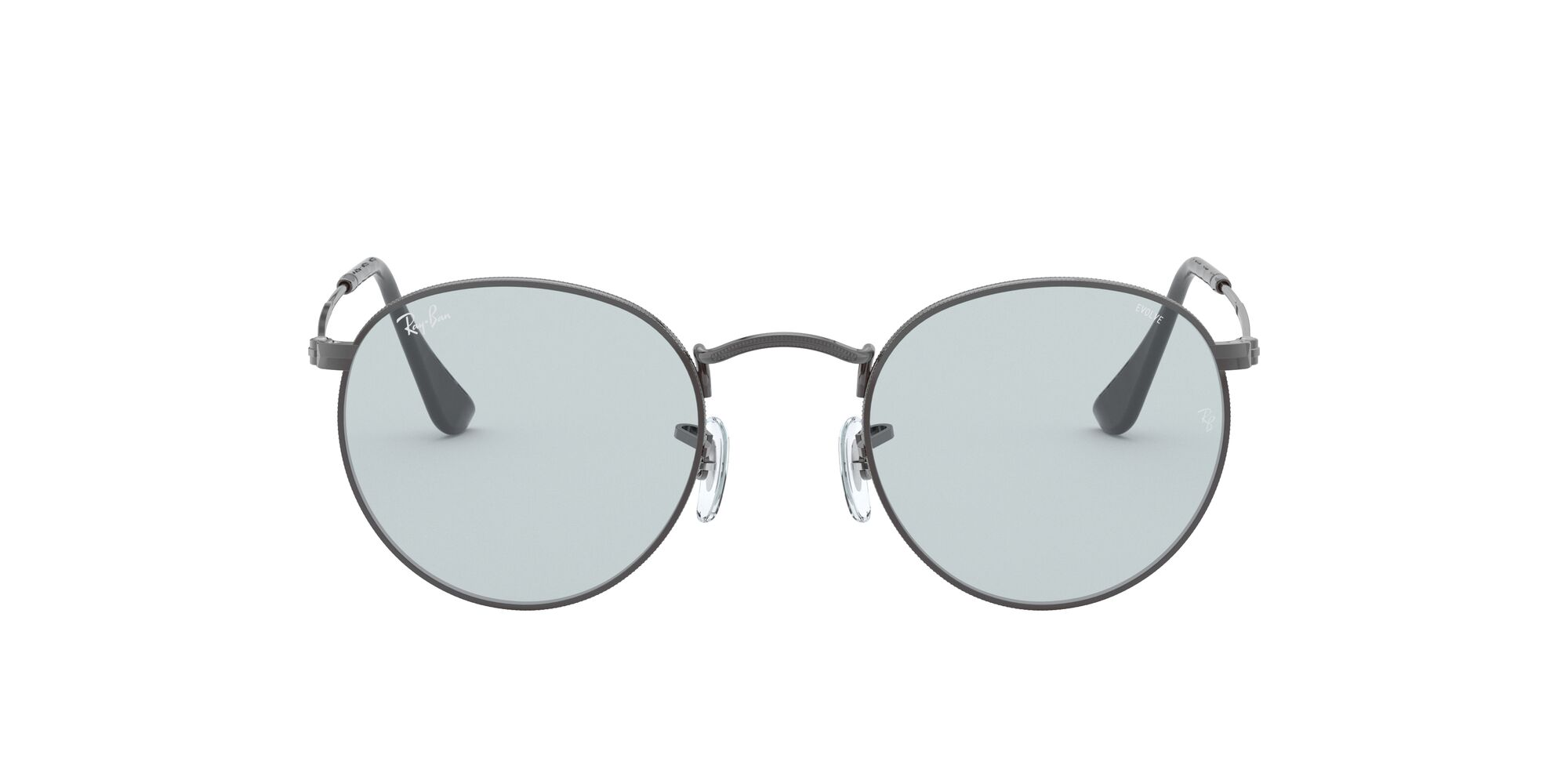 Front Ray-Ban Ray-Ban RB3447 004/T3 53/21 Grijs/Blauw