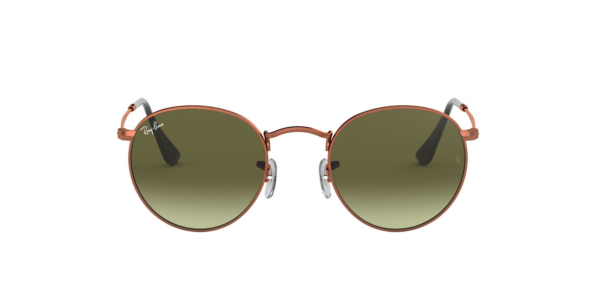 Front Ray-Ban Ray-Ban 0RB3447 9002A6 47/21 Brons/Groen