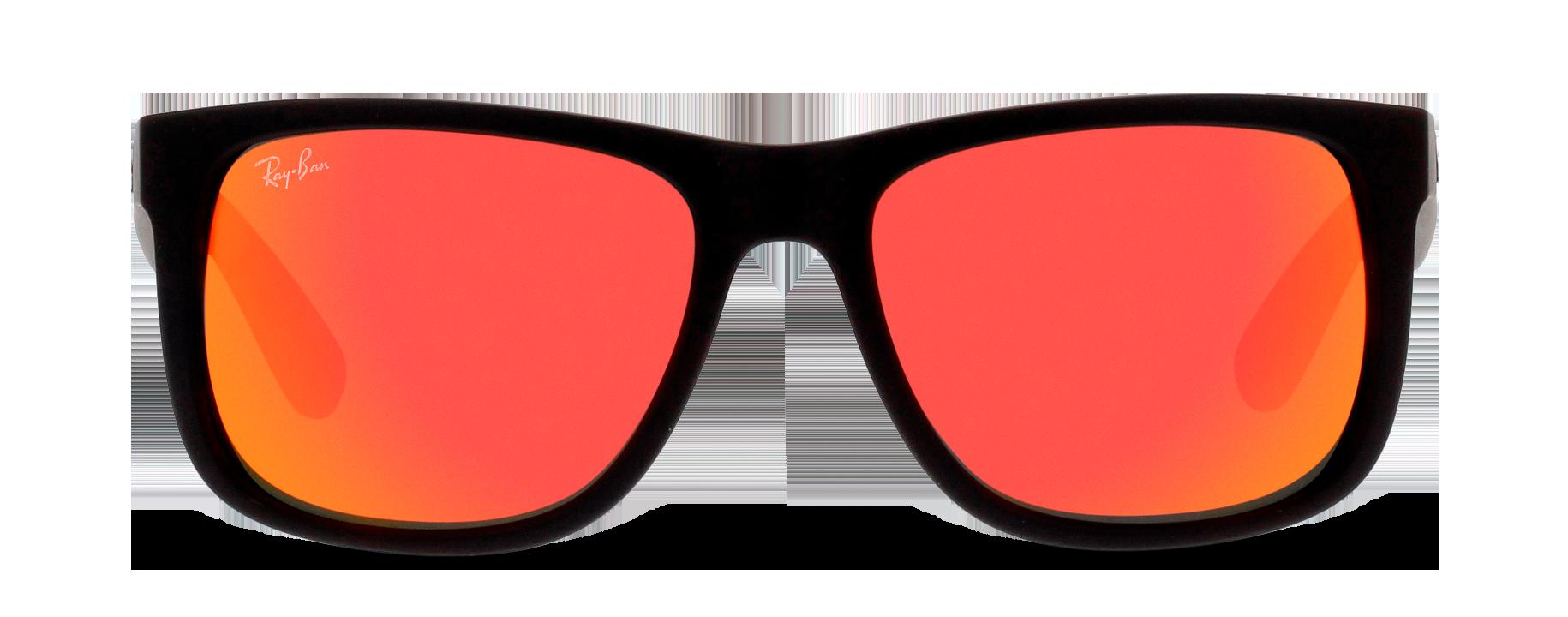 Front Ray-Ban Ray-Ban 0RB4165 622/6Q 54/16 Zwart/Oranje